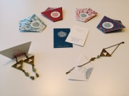 Triangle - Boucles (28€) ; Bracelet (22€)