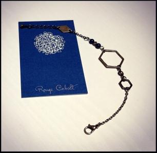 Sofia Stone - Bracelet Hexagone (22€)