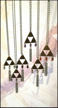 Collier triangle Romantique - 24€
